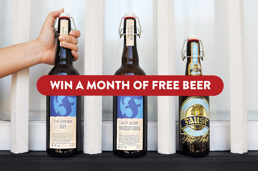 Hong Kong | WIN One Month of Free Craft Beer!