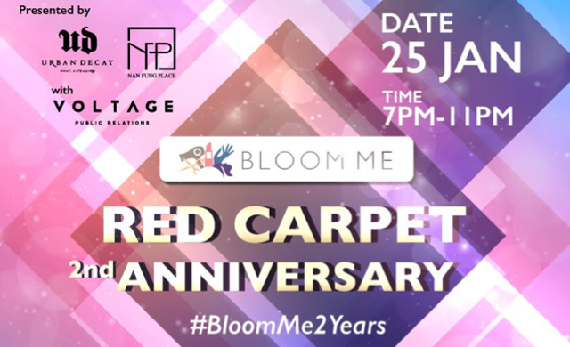 Hong Kong | BottlesXO @ BloomMe Red Carpet 2nd Anniversary
