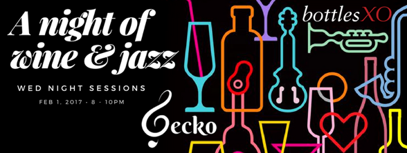 gecko wine and jazz
