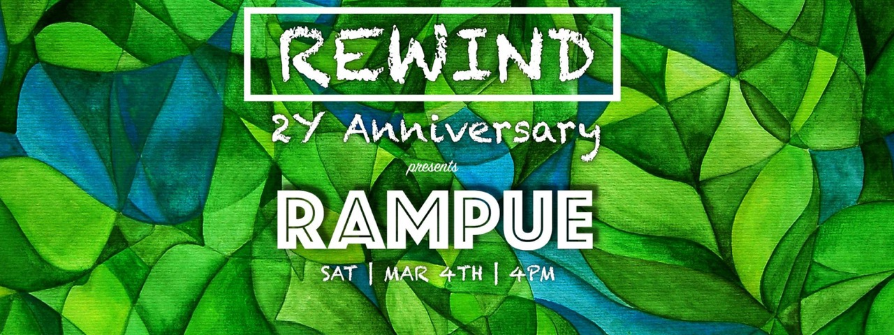 Hong Kong | Rewind 2 Year Anniversary ft. Rampue on Saturday, 4 March