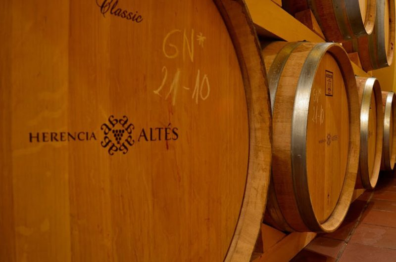 herencia altes garnatxa singapore singapur spanish wine delivery app apps