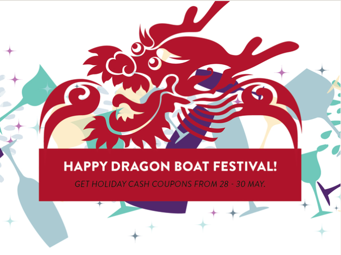 shanghai suzhou dragon boat discount discounts wine beer alcohol delivery service app apps deal deals