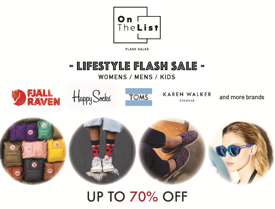 Hong Kong | OnTheList Flash Sale feat. TOMS, Karen Walker & More