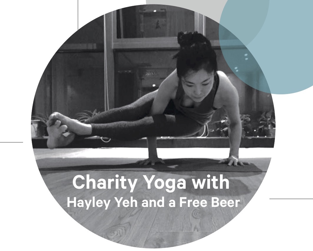 Suzhou | Charity Yoga & Beer with Hayley Yeh on Saturday, 12 August