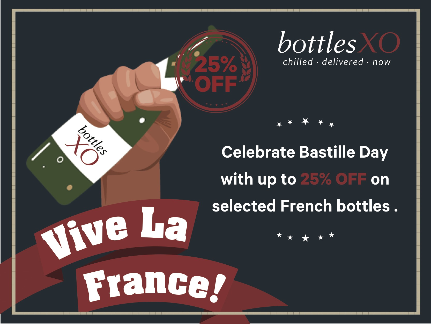 Hong Kong | Celebrate Bastille Day with Up to 25% OFF Selected French Bottles