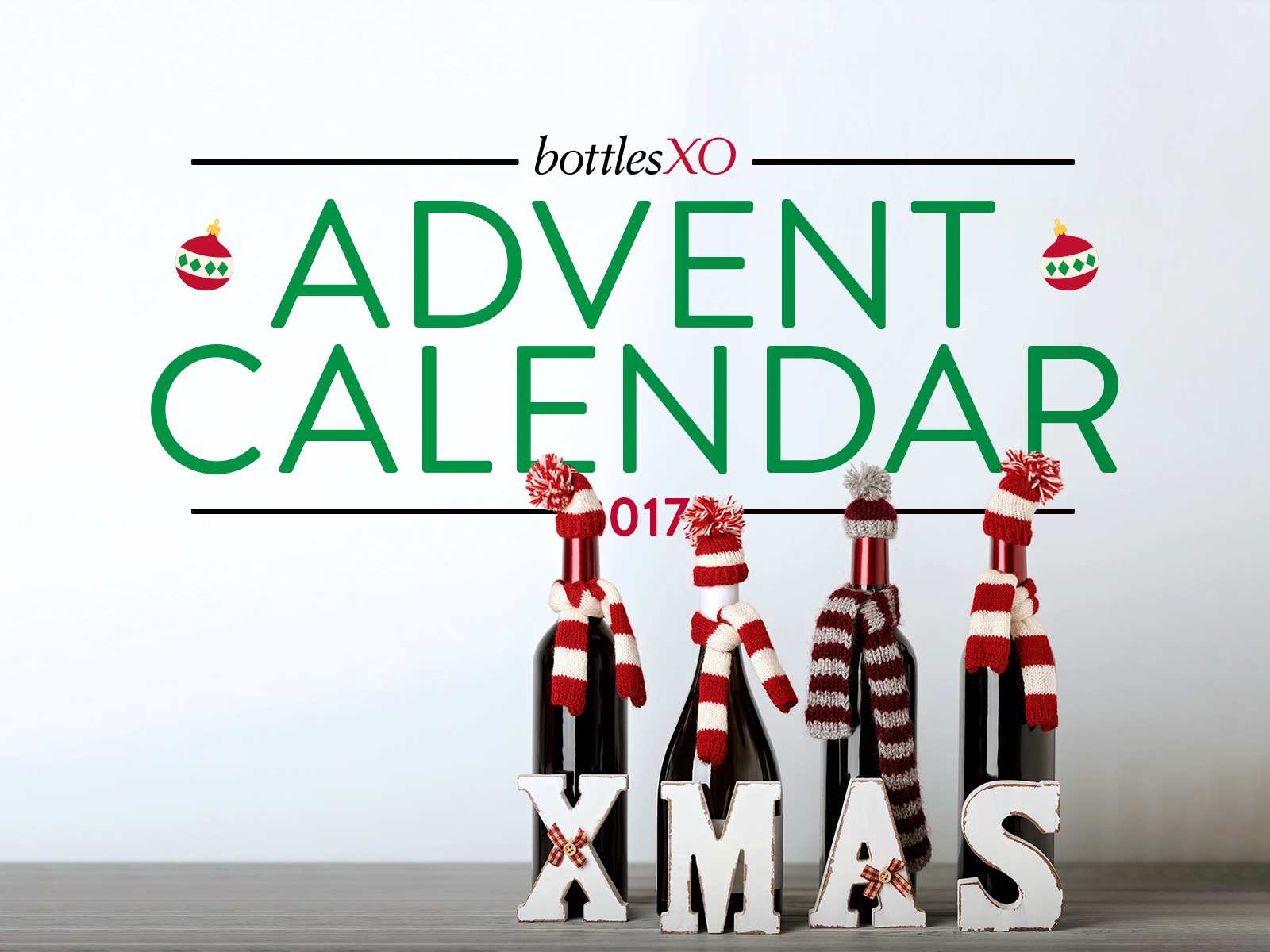 BottlesXO Advent Calendar | Your Last Chance to Win Amazing Christmas Prizes