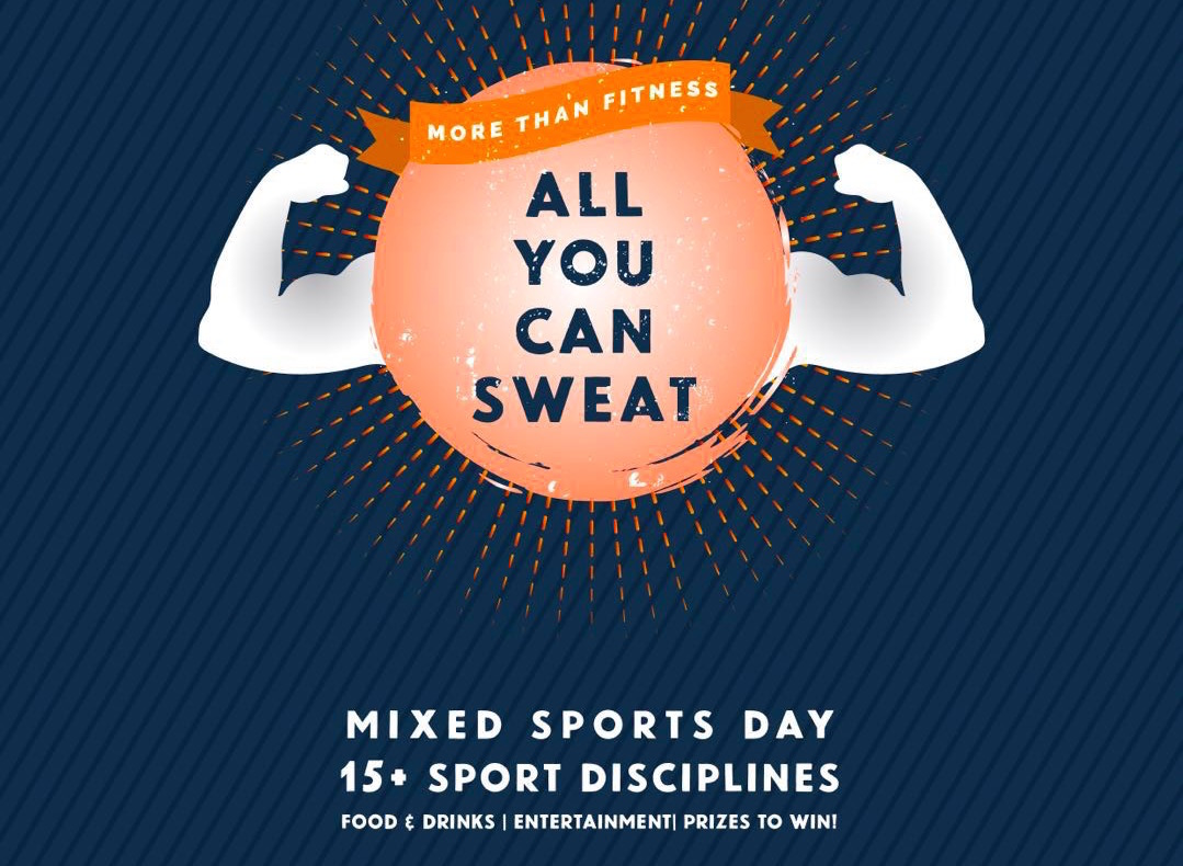Shanghai | YEYU 'All You can Sweat' Mixed Sports Day on Saturday, 26th May