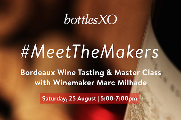 Shanghai | #MeetTheMakers Bordeaux Wine Tasting & Master Class with Winemaker Marc Milhalde