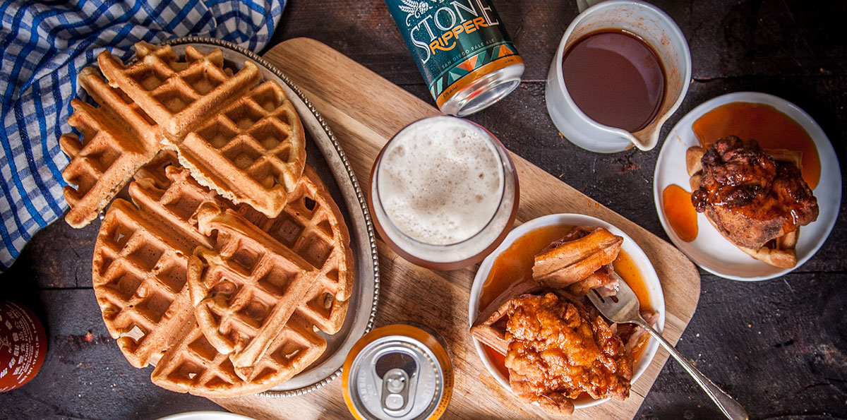 Try this Insane Recipe for Stone Ripper Fried Chicken & Waffles